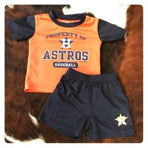 Other - Astros Baseball Baby/Toddler set